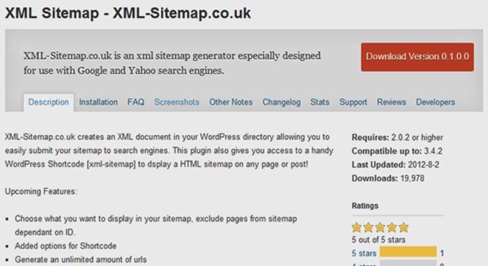 những plugins xml sitemap tốt nhất dành cho wordpress the cntech